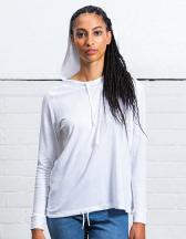Women`s Loose Fit Hooded T